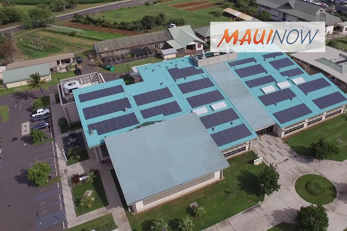 UH Maui College Lū'au Celebrates Net-Zero Energy Independence