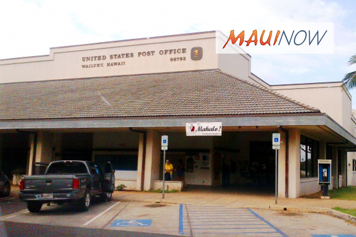 8 Maui County Post Offices Offer Tax Day Late Collections