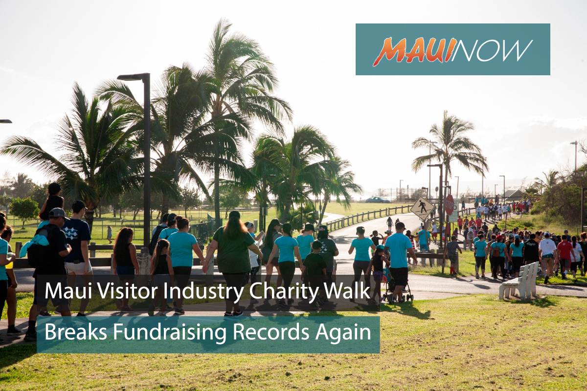 Charity Walk in Maui County Breaks Record, Raises $1.4 Million