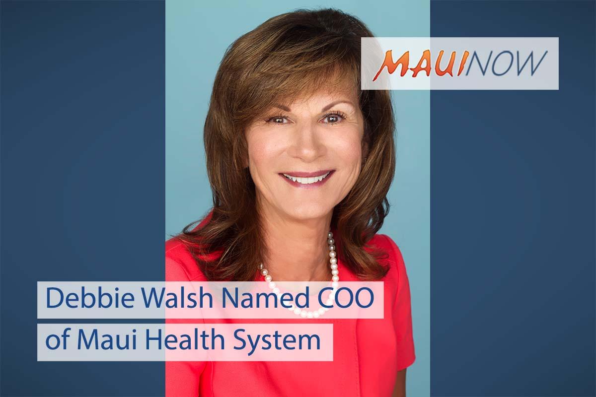 Debbie Walsh Named COO of Maui Health System