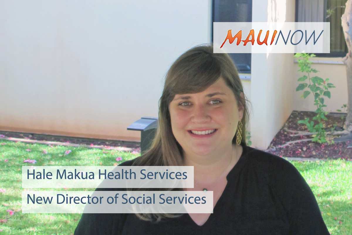 Hale Makua Hires New Social Services Director