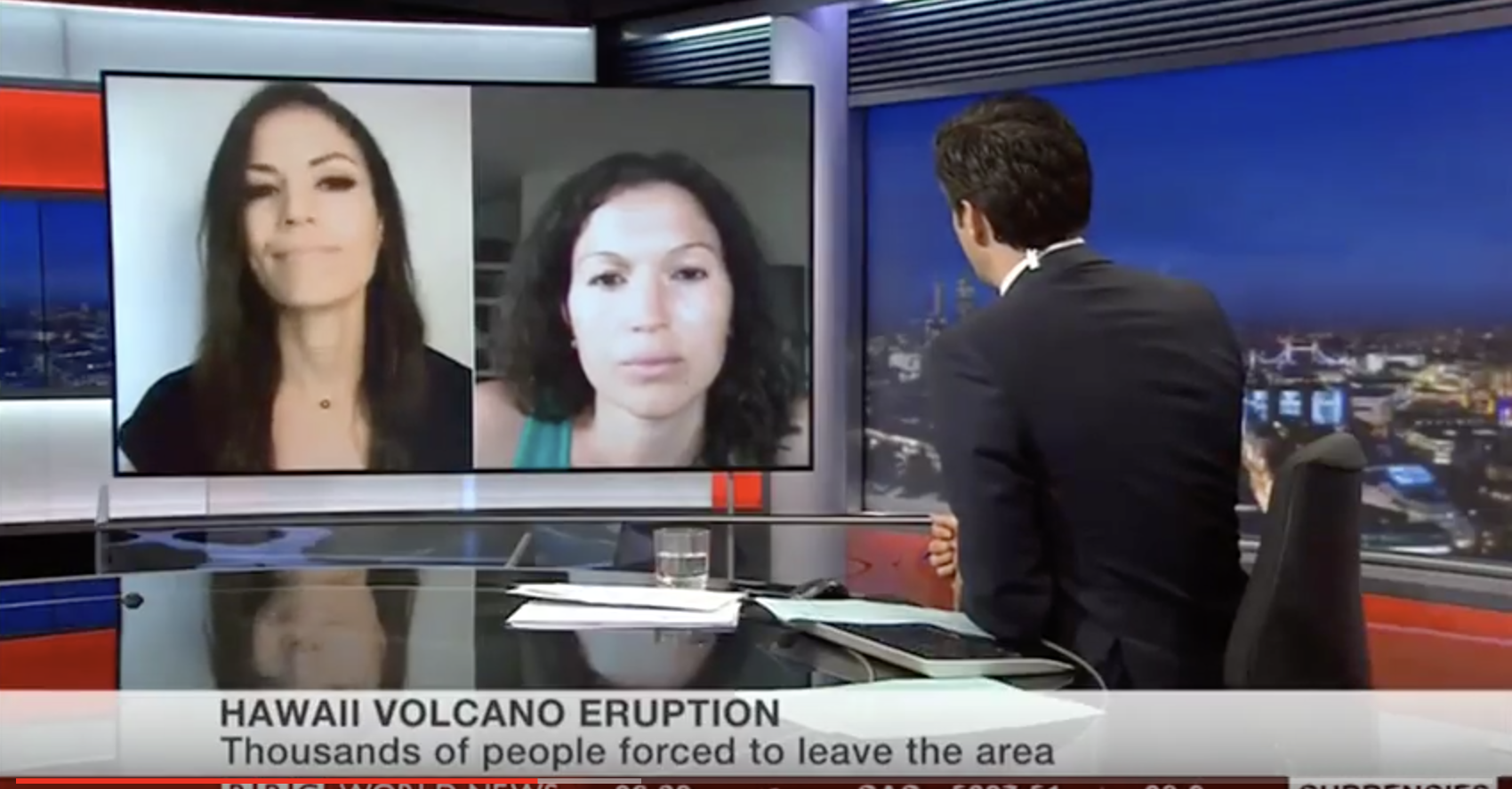 Meteorologist Malika Dudley, Sister Emily Clearwater Interview With BBC World News