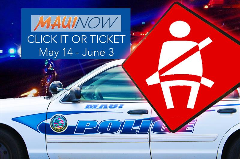 Two-Week Click it or Ticket Seatbelt Enforcement Underway