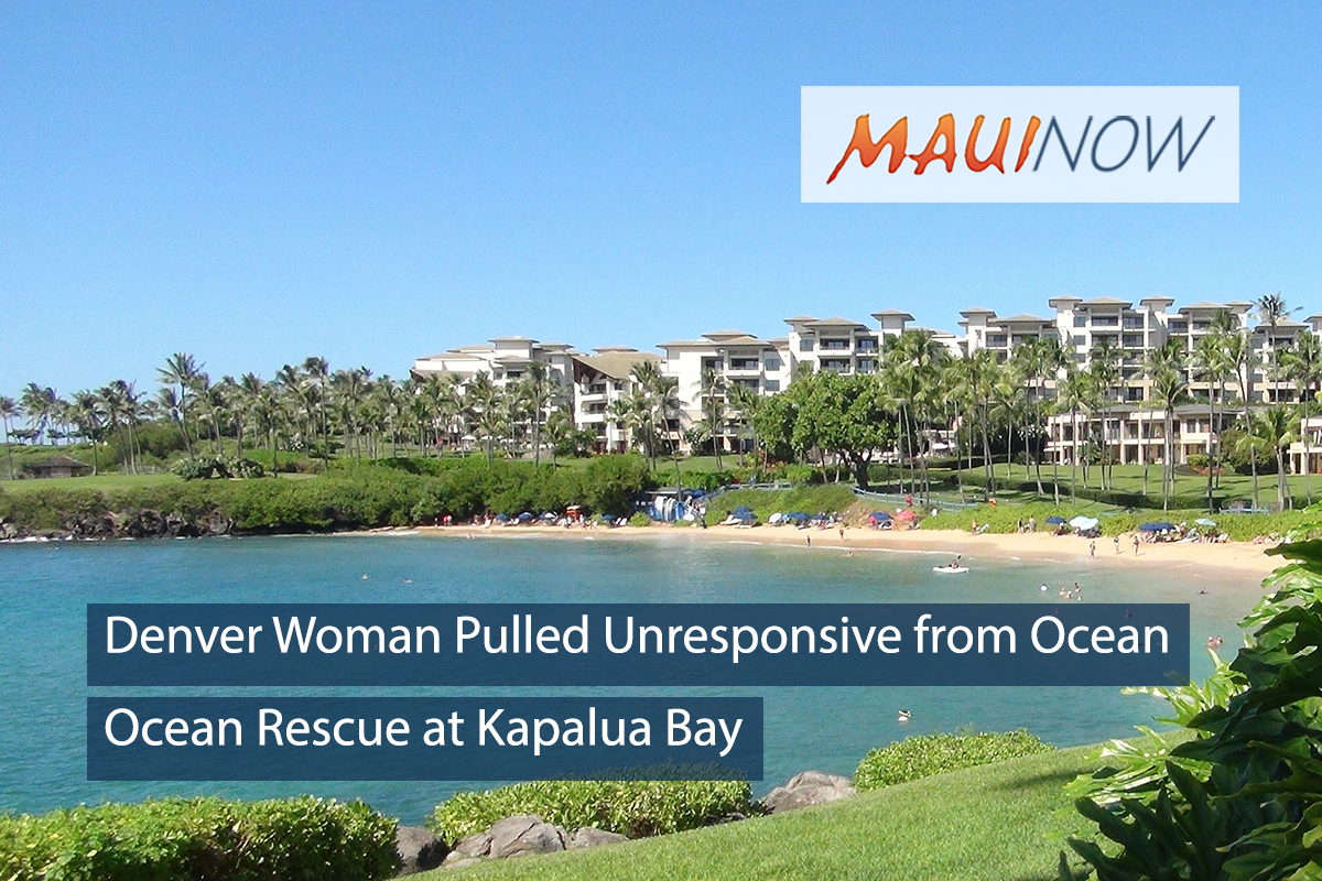 Colorado Woman Pulled Unresponsive from West Maui Waters