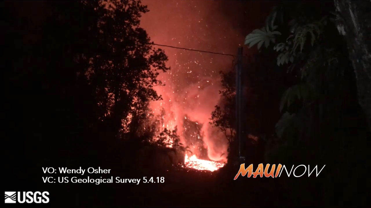 Hawai'i Volcano Eruption Update: Fuming, Rumbling Precedes Large Quake