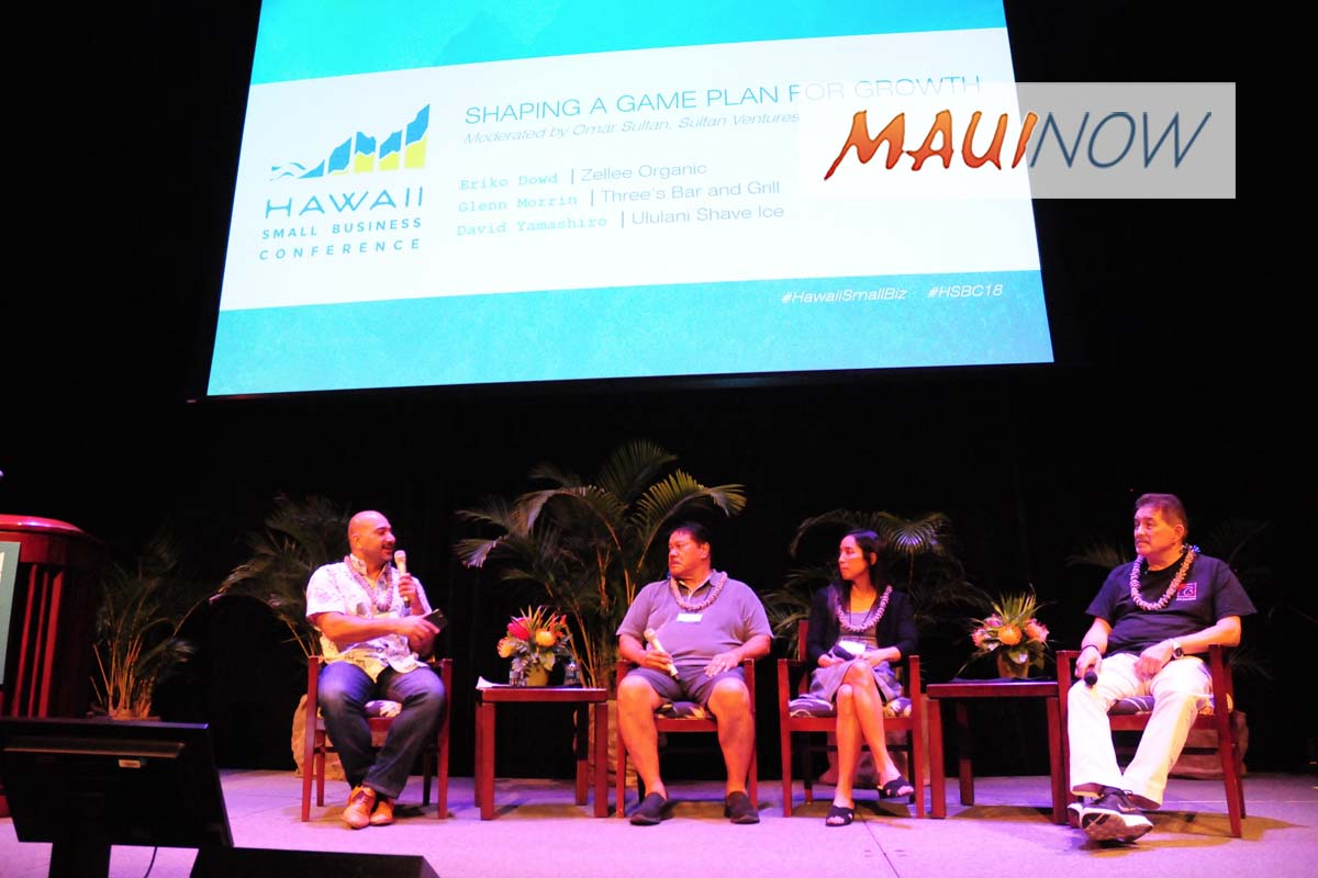 Keys to Success Shared During Hawai'i Small Business Conference