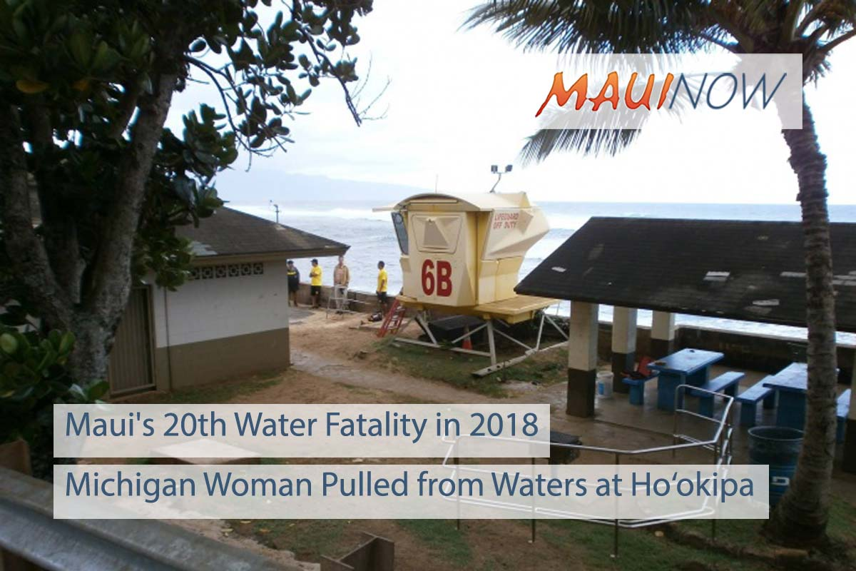 Ho'okipa Snorkeling Death is Maui's 20th Water Fatality in 2018