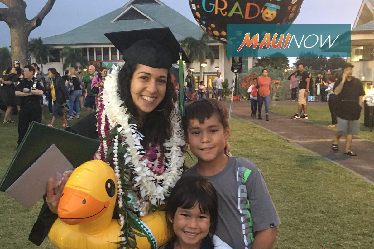 291 Students Earn Degrees at UH Maui College Graduation