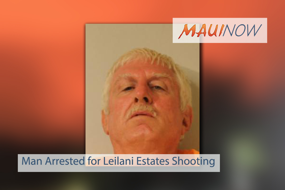 UPDATE: Man Charged in Leilani Estates Shooting Incident