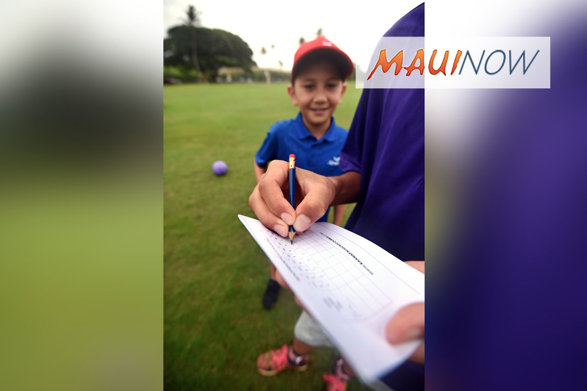 Kā'anapali Golf Continues Juniors Play Free Program this Summer