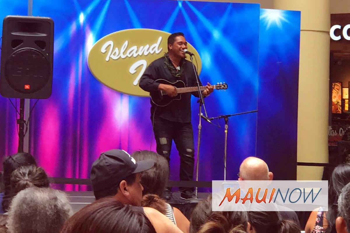Maui's Kaniala Masoe is Island Idol Semifinalist