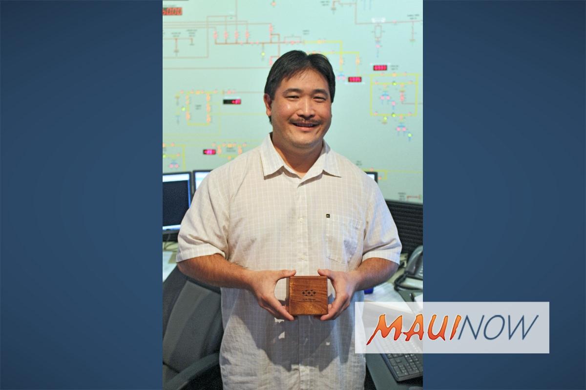 Maui Electric's Kyle Tamori recognized as 2017 Kokua Community Champion