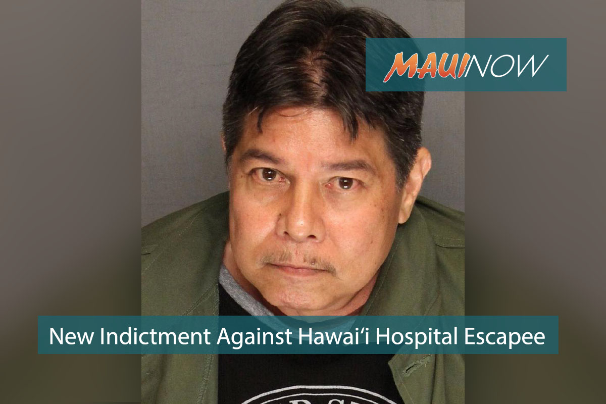 New Indictment Against Hawai'i Hospital Escapee