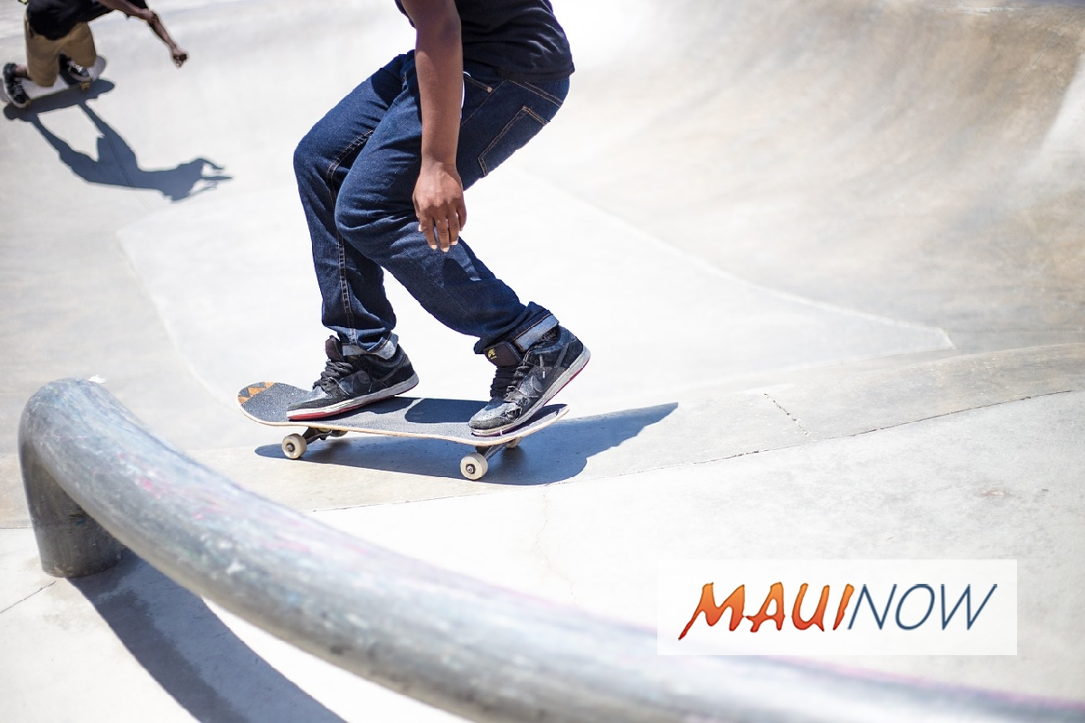 Keōpūolani Skate Park Half Pipe to Close For Painting Project