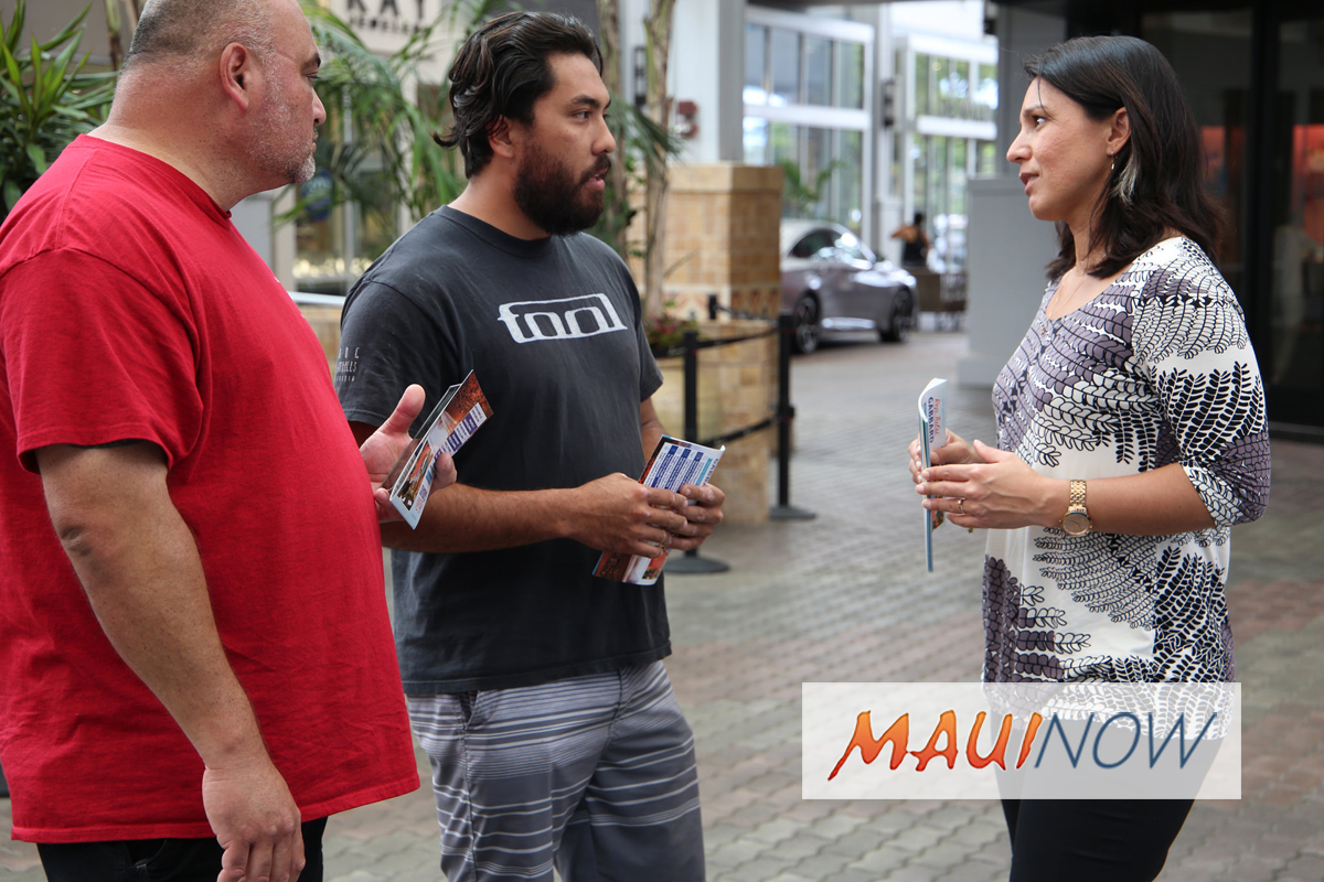 Rep. Gabbard Visits Maui, Honors Vietnam Veterans