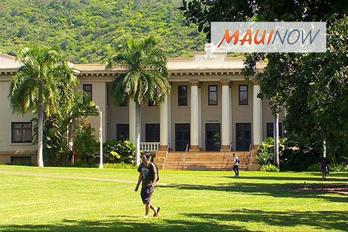 UH Enrollment Up, Record Setting Freshman Class at Mānoa