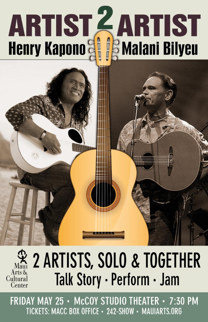 New Concert Series at the MACC with Henry Kapono