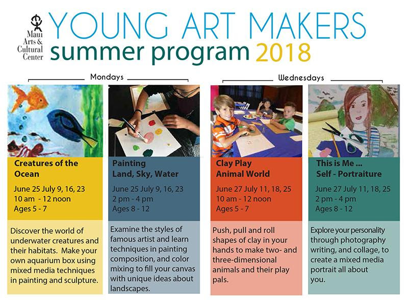 Registration for Young Art Makers Program Open