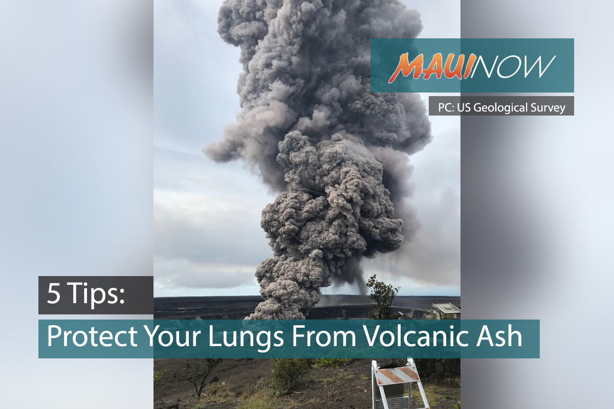 5 Tips to Protect Your Lungs From Volcanic Ash