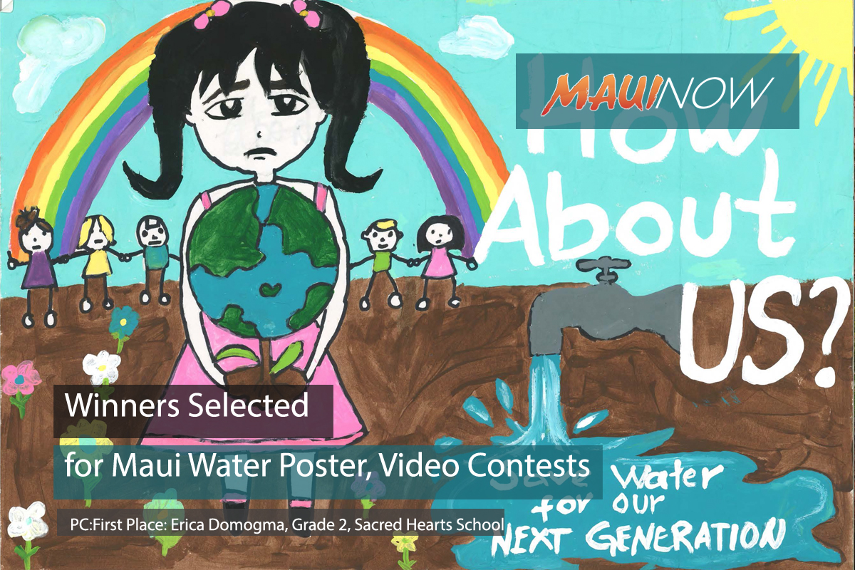 Winners Selected for Maui Water Poster, Video Contests