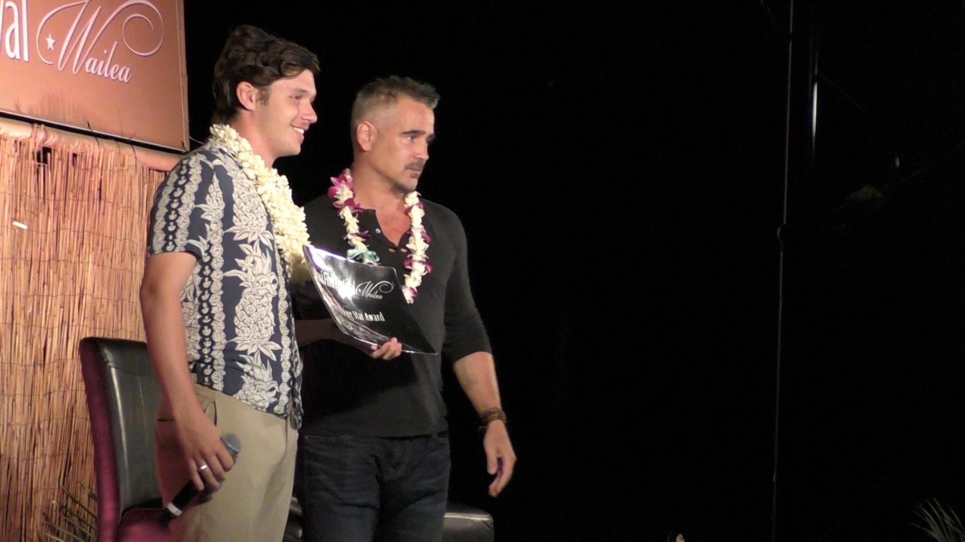Nick Robinson Speaks at Maui Film Festival