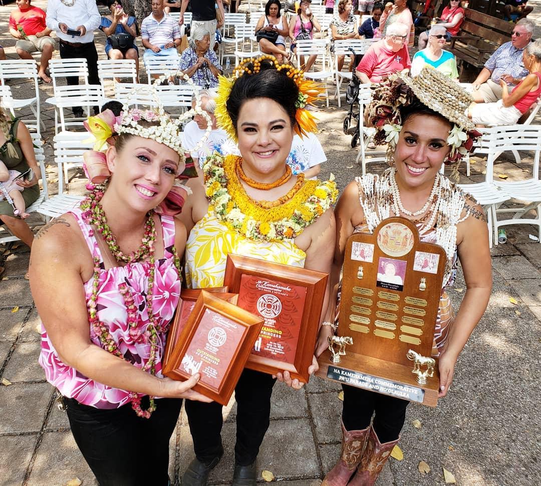 2018 Nā Kamehameha Commemorative Pā'ū Parade Winners Named