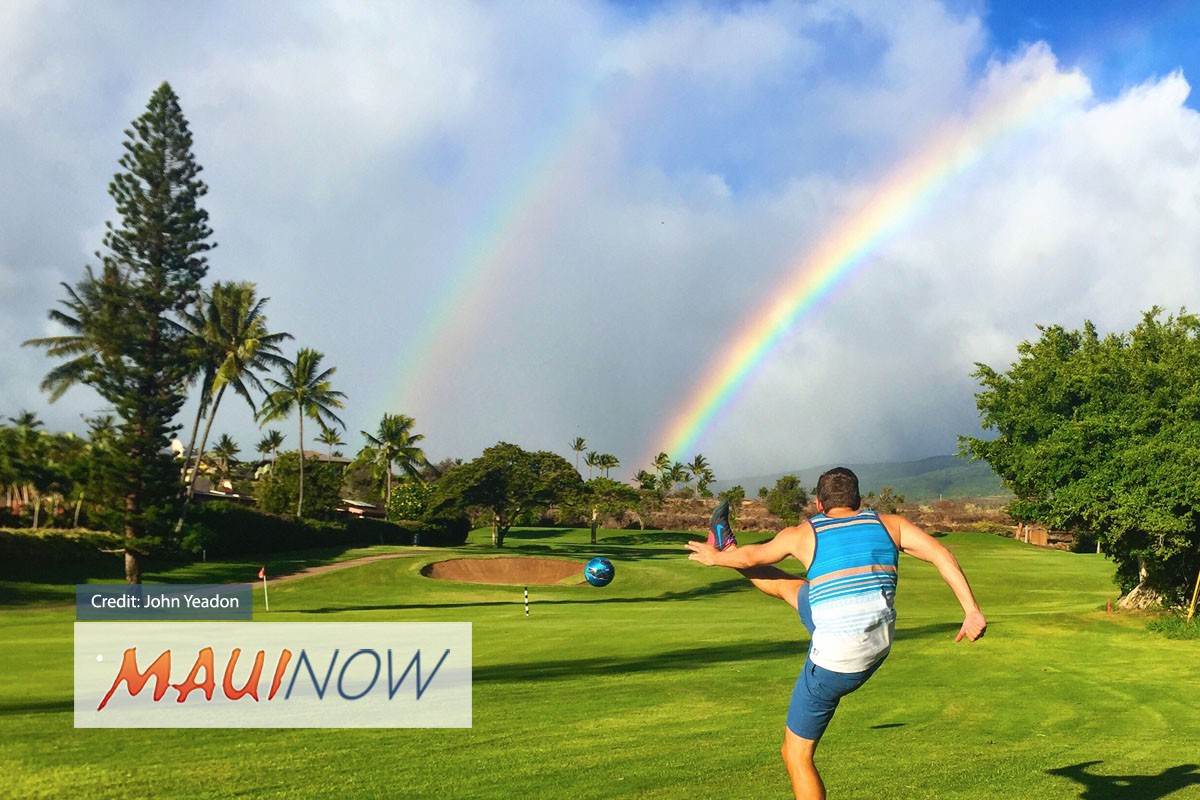 Kā'anapali Golf Offers Maui's Only FootGolf Course