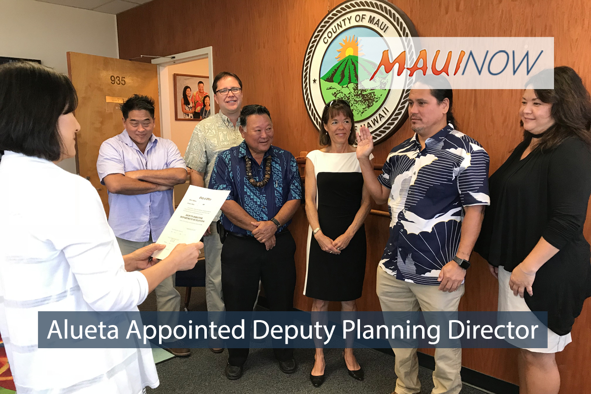 Joseph Alueta Appointed Deputy Planning Director on Maui