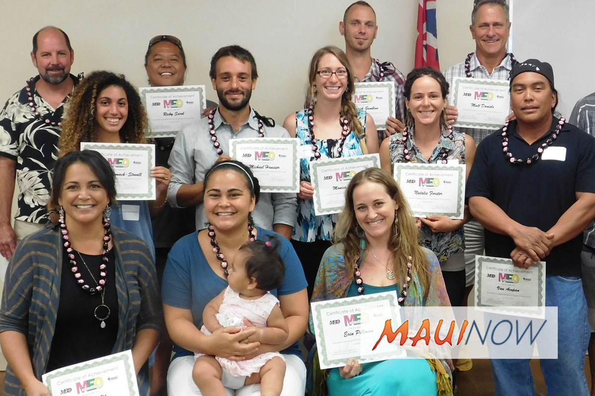 Core Four Business Planning Class Offered in West Maui
