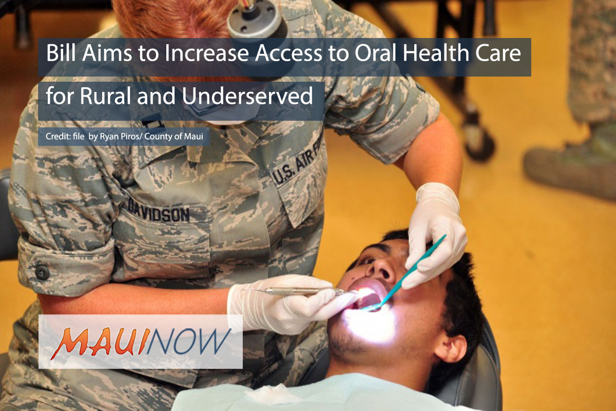Bill Aims to Increase Access to Oral Health Care for Underserved