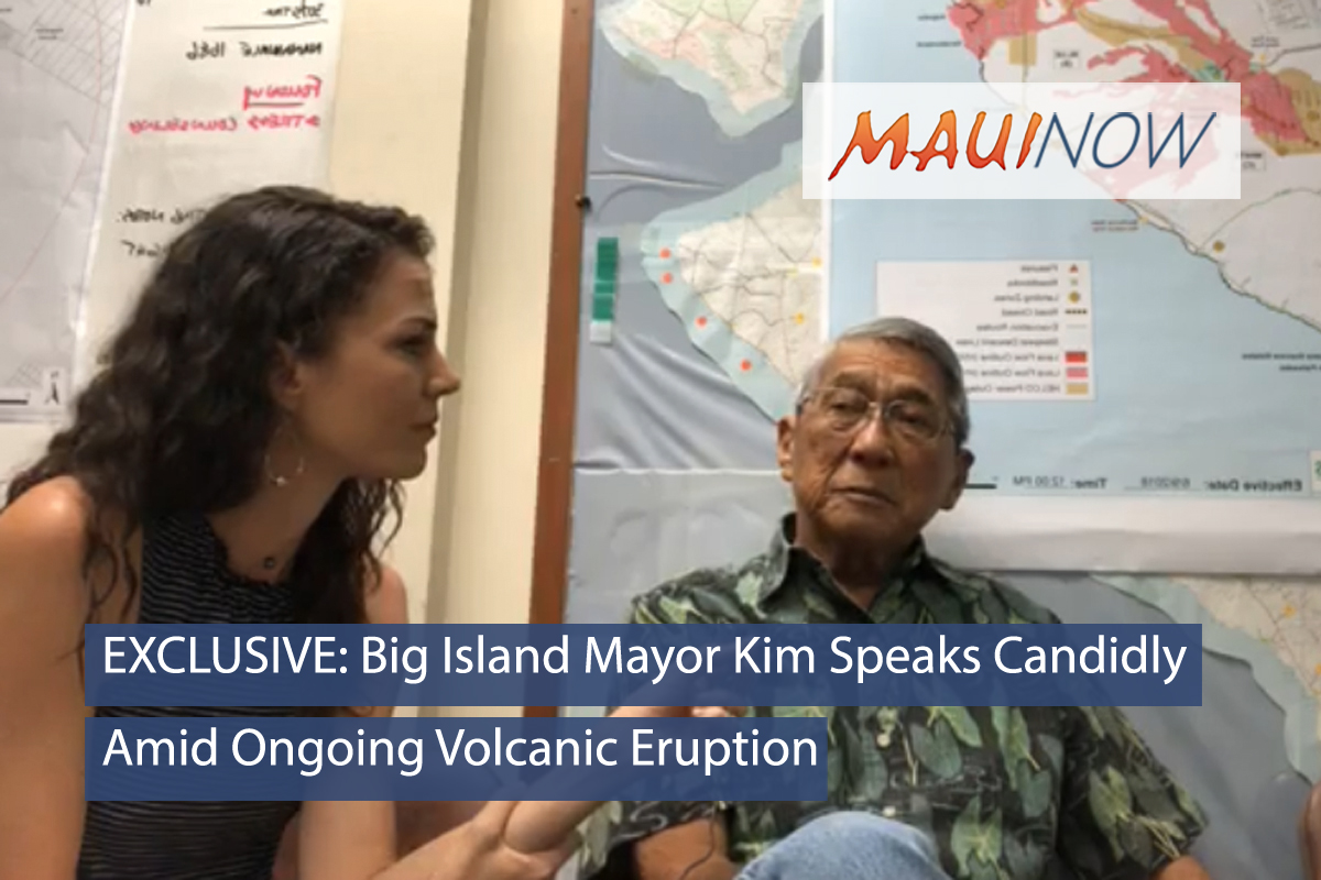 EXCLUSIVE LIVE: Mayor Kim Speaks Candidly Amid Ongoing Volcanic Eruption