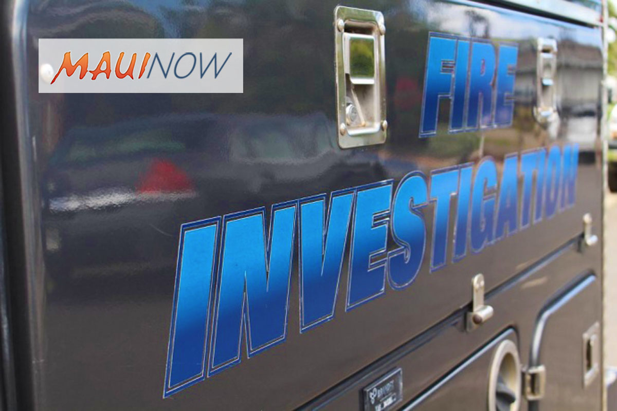 Arson Investigation: Police Looking For Truck Seen Leaving Puʻunēnē Fire
