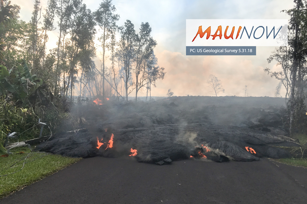 Man Arrested, Crashes Car Into Hardened Lava Flow