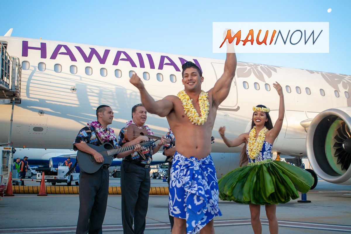 Hawaiian Airlines Welcomes Record 11.8 M in 2018
