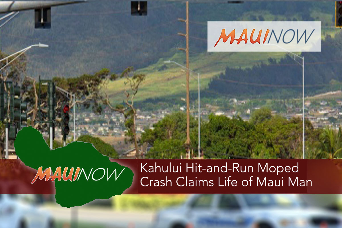 Kahului Man Killed in Hit-And-Run Moped Accident, Arrest Made