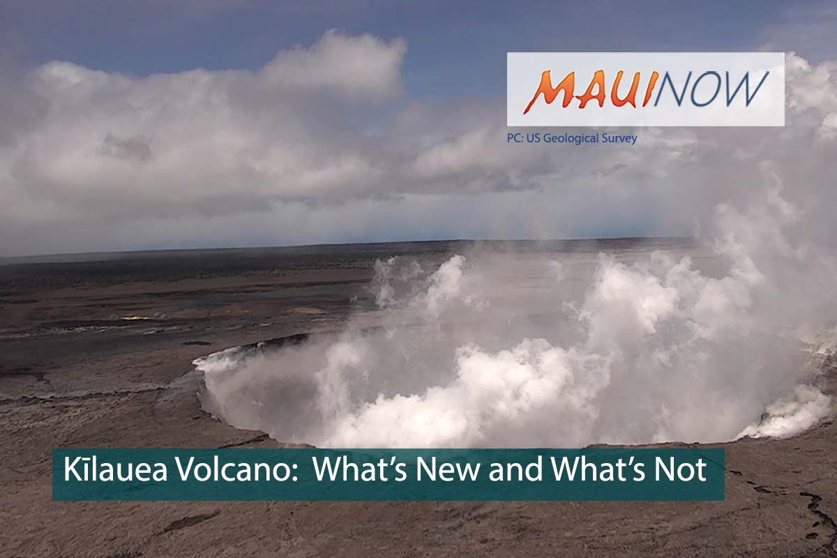 Volcano Discussion:  Is the Kīlauea Eruption a New Event?