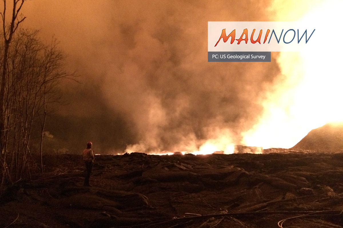 Alleged Squatter Arrested at Unfinished Home in Lava Zone Restricted Area