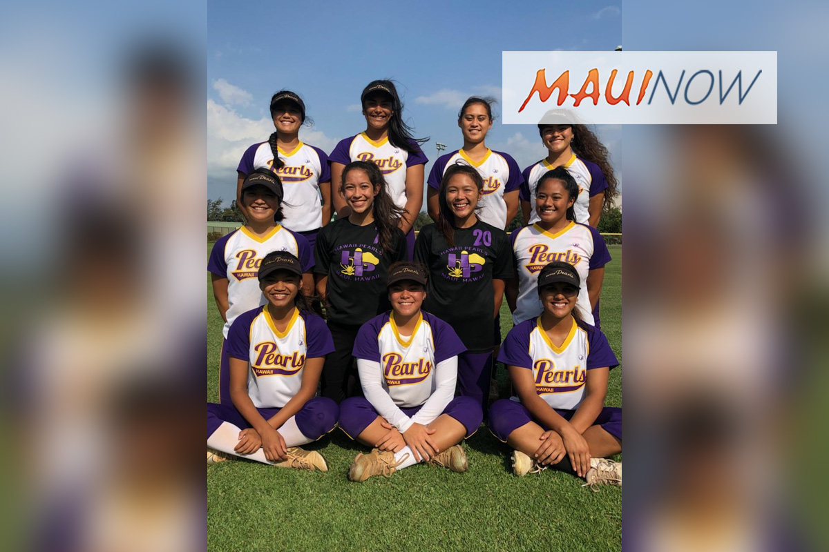 Maui Pearls Softball Team to Compete in First Ever Hokkaido Hawai'i Games