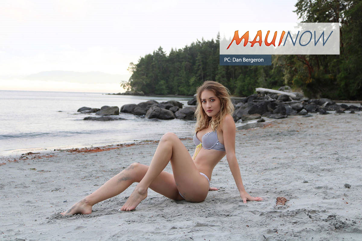 Former Kīhei Model in Running for Maxim Magazine Cover Girl Competition