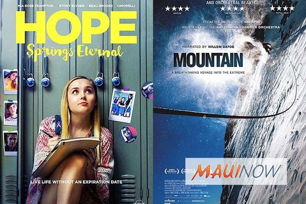 Maui Film Festival Castle Theater Shows, June 13-17