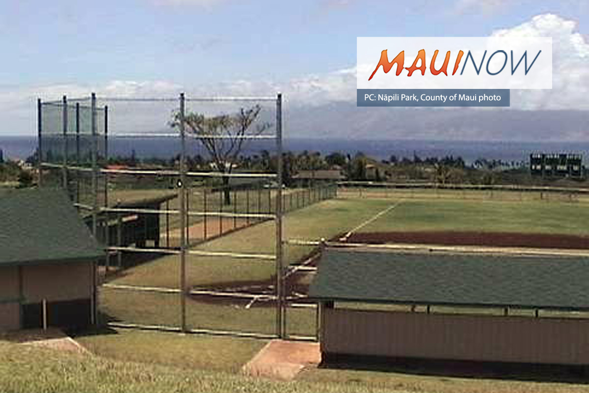 Nāpili Park Playground Closed for Construction from Jan. 13 to March 15