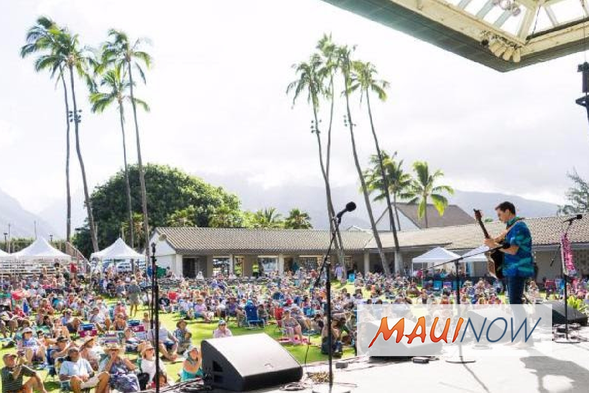 All-Star Lineup to Perform at 27th Annual Kī Hō`alu Festival