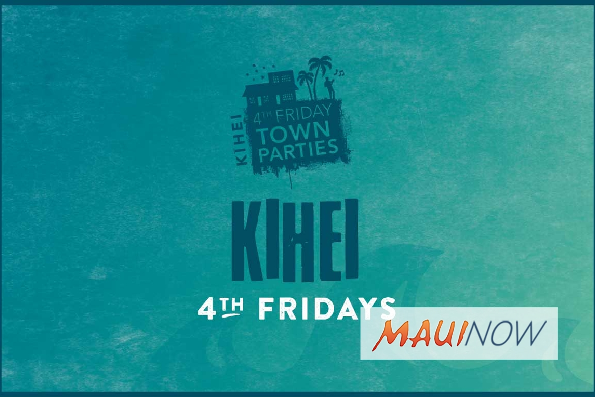 June Kihei Town Party Line Up Announced