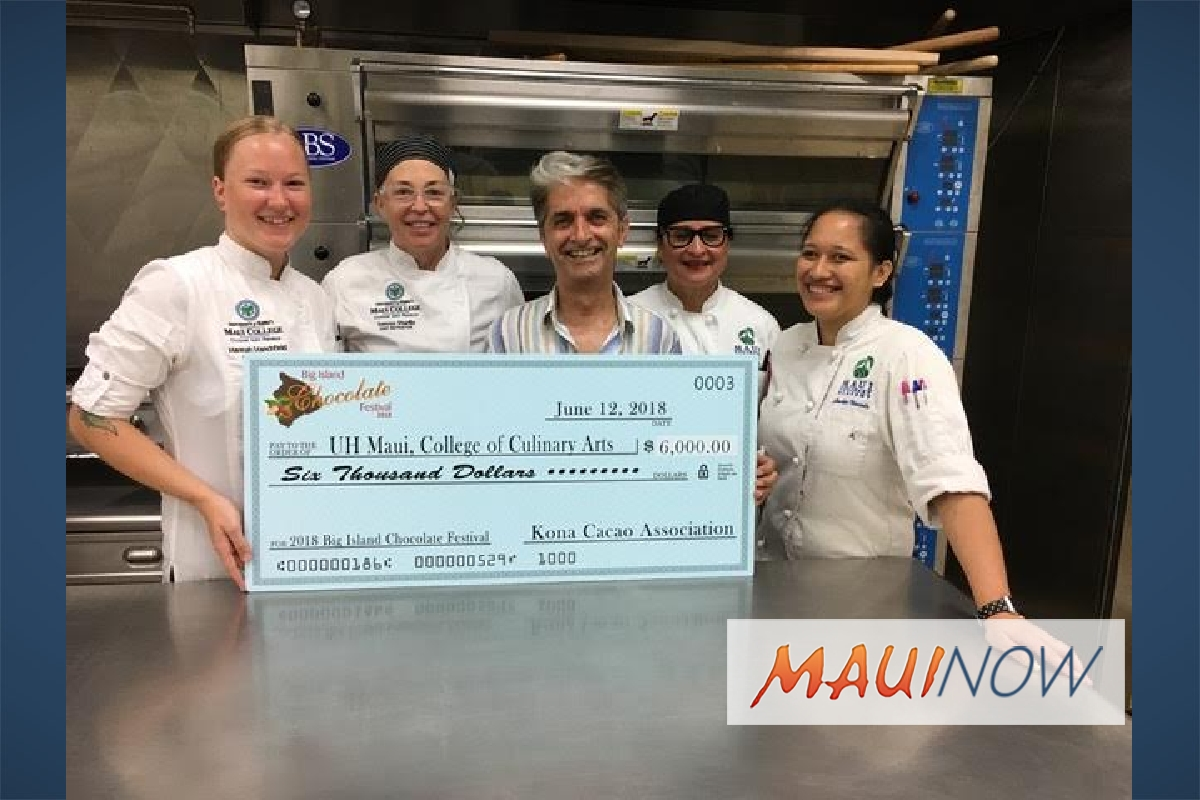 Big Island Chocolate Festival Supports UH Maui College