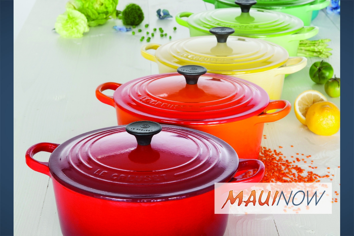 Grand Opening of Le Creuset Maui Features Local Chefs