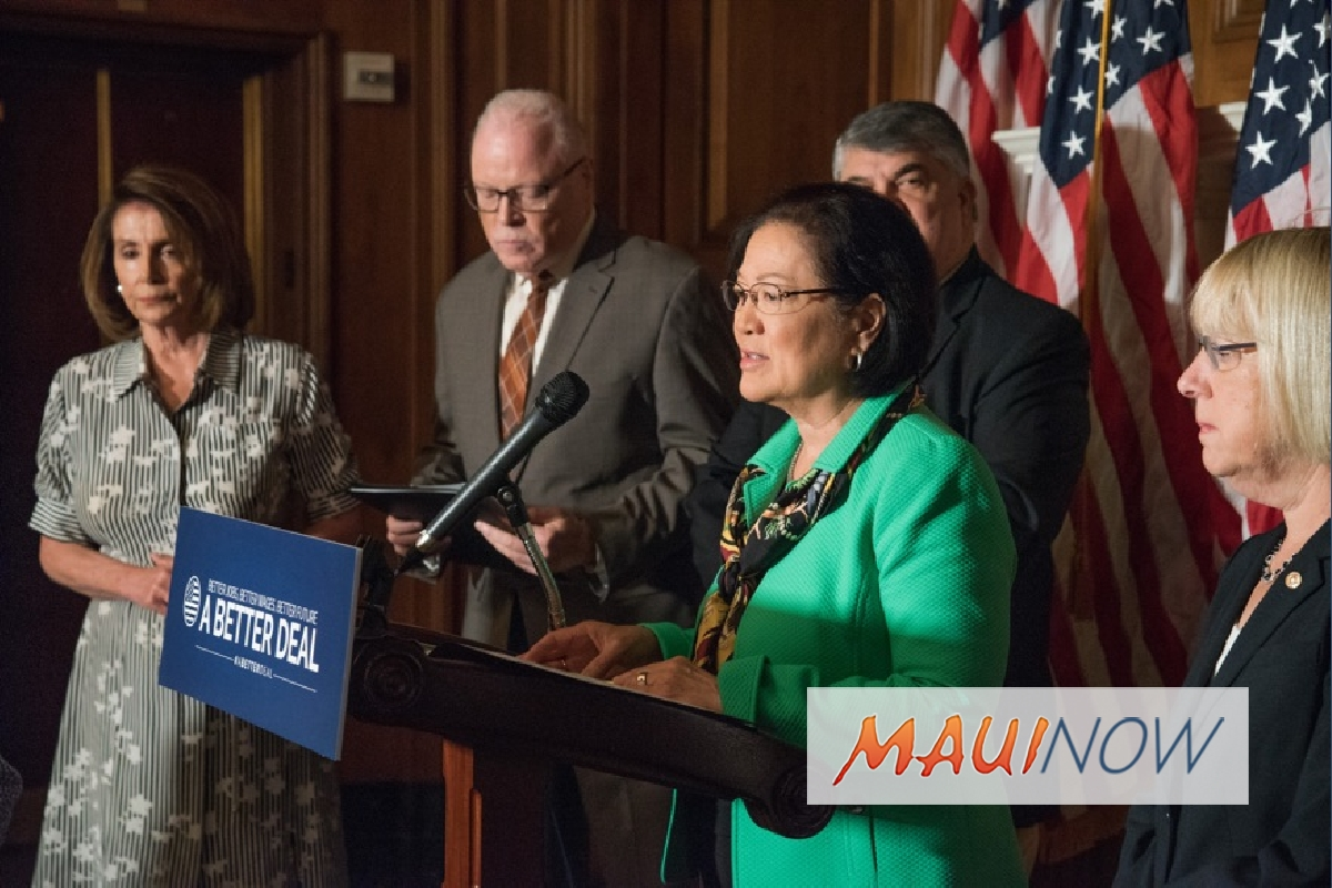 Hirono, Senate & House Democrats Introduce Legislation to Strengthen Workers Rights