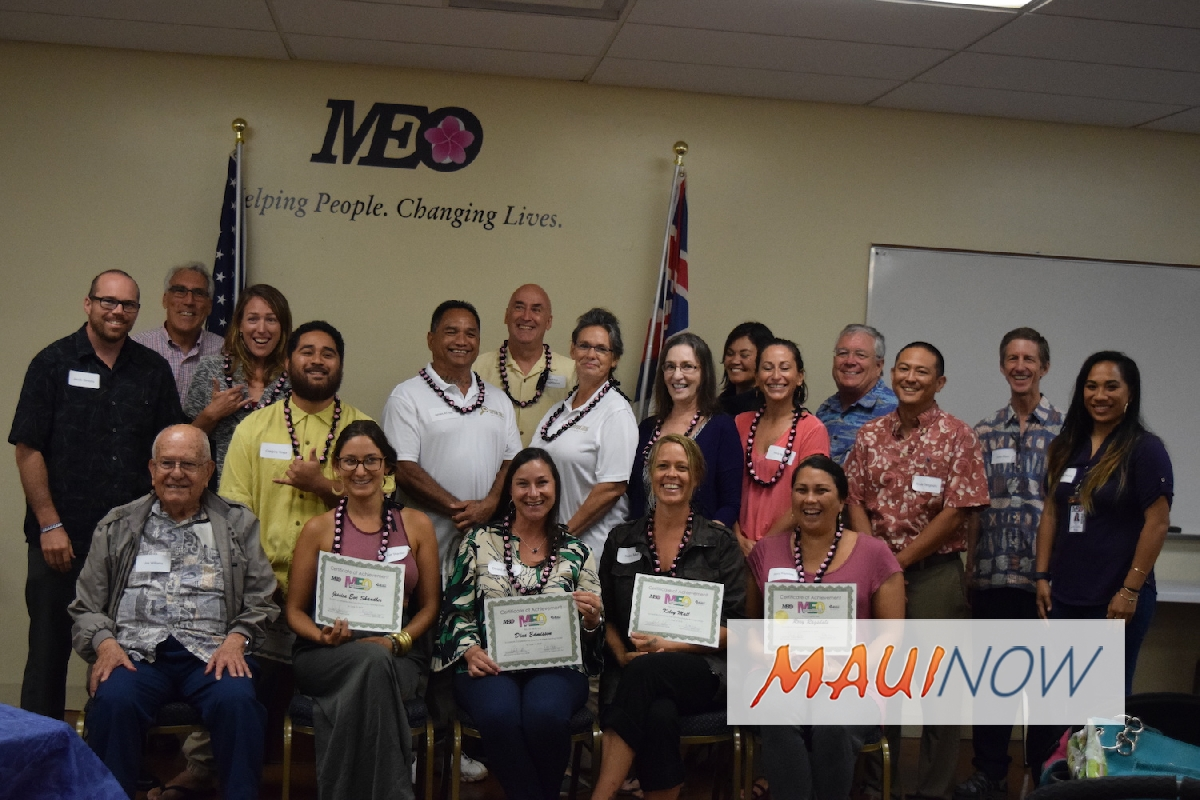 MEO Honors Grads of Business Development Workshop