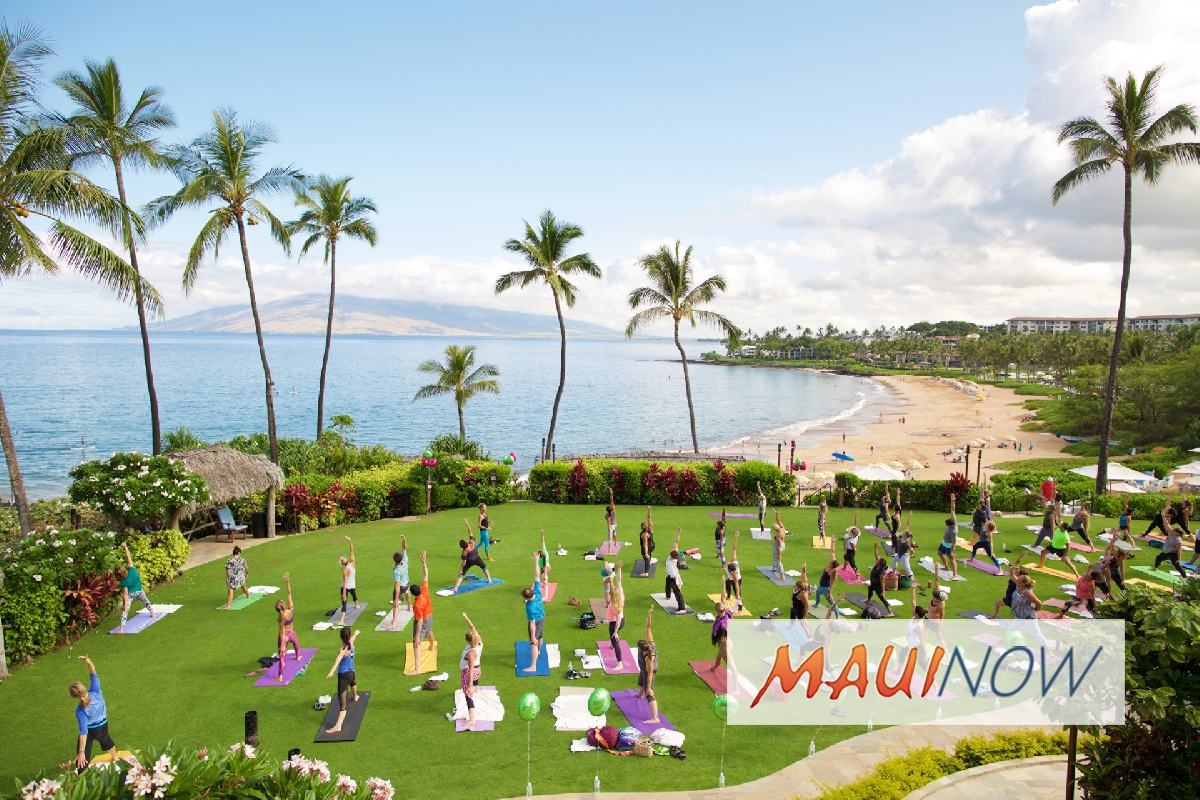 Four Seasons Resort Maui Celebrates Global Wellness Day