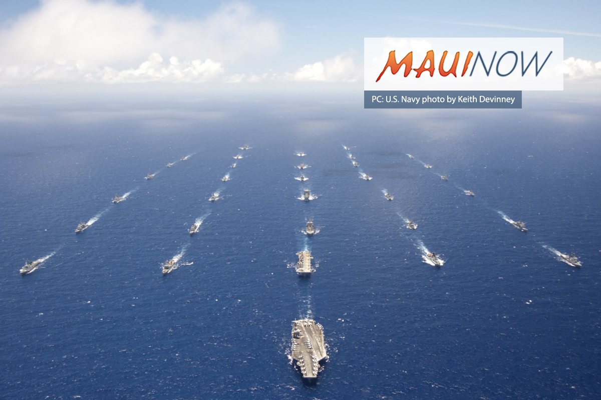 Navy Agrees to Scale Down Rim of the Pacific 2020 Exercise