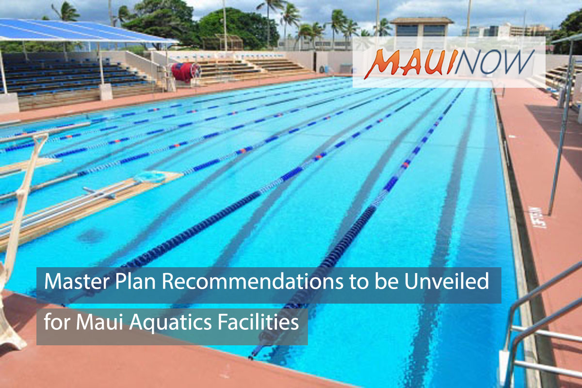Maui Aquatics Facilities Master Plan Recommendations to be Unveiled